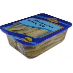 Marinuota silkė 1kg(Herring fillet marinated oil)
