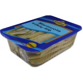Marinuota silkė 1kg(Herring fillet marinated oil)
