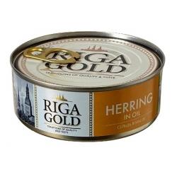Silkė aliejuje 240g grynos žuvies 163g (herring in oil )