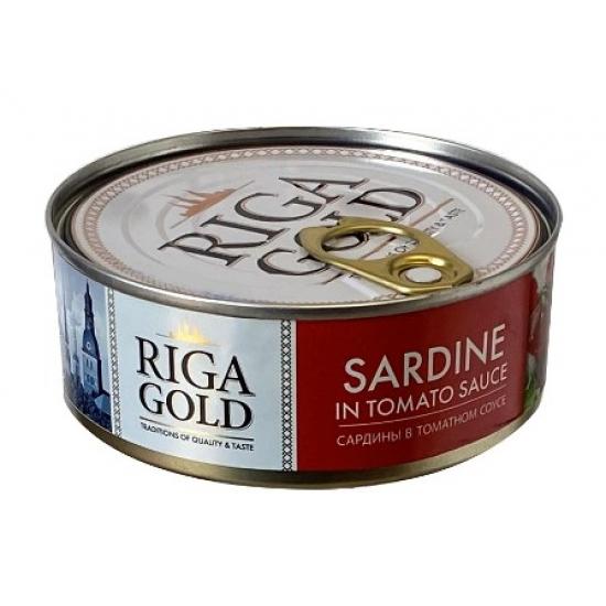 Sardinė pomidorų padaže 240g (Mackerel in tomato sauce)