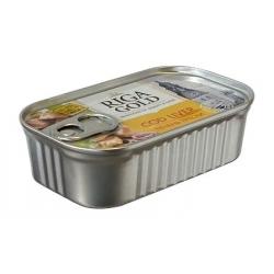 Menkės kepenėlės naturaliame aliejuje121g (Cod liver natural oil)