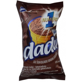 """Dadu"" Plombyras su šokolado gabaliukais 120ml"