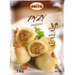 "Apvalus cepelinai su mėsos įdaru1kg""Pyzy""(Potato dumplings with meat)"