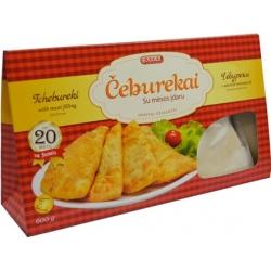 Čeburėkai su mėsos įdaru 600g (Thebureki with meat filling)