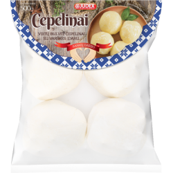 Cepelinai virtų bulvių su varškės įdaru 500g