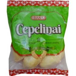 """Virtų bulvių cepelinai su mėsos įdaru 500g """"Judex"""" (Frozen dumpling with Meat)"""