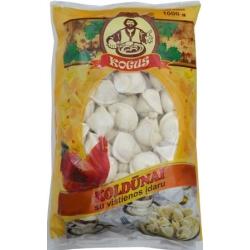 """""""Kogus"""" Koldūnai su vištienos įdaru 1kg (Dumplings with chicken filling)"""