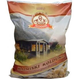 """""""Kogus"""" Kaimiški koldūnai su mėsos įdaru 2 kg (Country dumplings with meat)"""