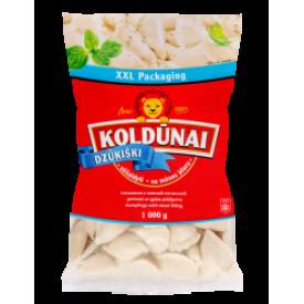 """""""Koldūnai Dzūkiški""""Koldūnai su mėsos įdaru 1kg (Dumplings with meat)"""