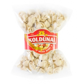"Koldūnai su mėsos įdaru 800g ""Karališkieji"" (Dumplings with meat filling)"