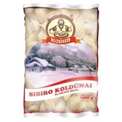 """""""Kogus"""" Sibiro koldunai su mesos idaru 1kg (Siberia dumplings)"""