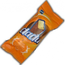"""""""DaDu""""  Varškės sūrelis su kondensuotu pienu 45g(Cheese bar condencet milk)"""
