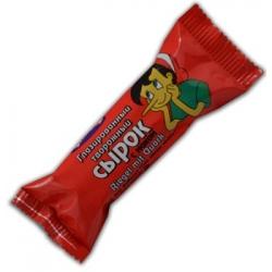 """""""Buratin"""" Varškės sūrelis su aguonomis 45g(Cheese bar poppy seeds)"""
