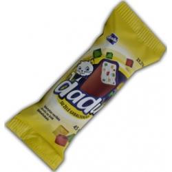"""""""DaDu"""" Varškės sūrelis su žėlės gabaliukais  45g(Cheese bar with jelly)"""
