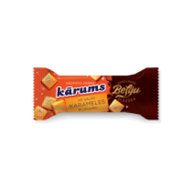 """Karums""Sūrelis su karamele 38g (cheese bar with caramel)"