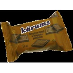 """""""Karums"""" Varškės sūrelis su šokolado gabaliukais 45g (Cheese bar chocolate)"""