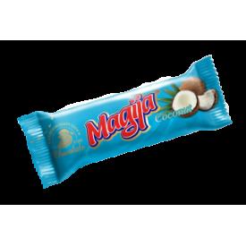 """Magija""  Varškės sūrelis su Kokosu  45g(Cheese bar coconut)"