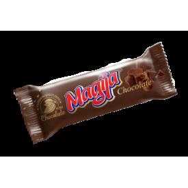 """""""Magija"""" Varškės sūrelis su Šokolado gabaliukais  45g(Cheese bar Chocolate)"""