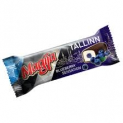 """Magija""Varškės sūrelis su mėlynių skoniu""Tallin""(Chees bar with blueberry sensation)"