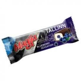 """""""Magija""""Varškės sūrelis su mėlynių skoniu""""Tallin""""(Chees bar with blueberry sensation)"""