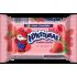 """""""Nykštukas""""Varškės sūrelis su braškėmis 100g 8%(Curd cheese strawberry)"""