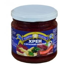 TR Krienai su burokėliais 180g (Horse radish with beetroots)
