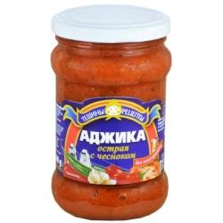 Aštri adžika su česnaku 300g (Spice sauce with garlic)