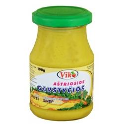 """""""Viko""""aštrios garstyčios 190g (Hot mustard)"""