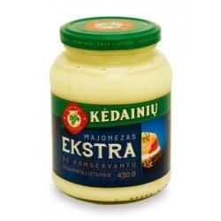 "KKF Majonezas ""EKSTRA"" be konservantų 430g (Mayonaise no preservatives)"