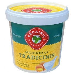 Majonezas tradicinis 1kg (Mayonnaise traditionally)