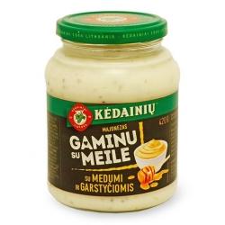 """""""KKF"""" Majonezas Lietuviškas su medumi ir garstyčiomis 420g (Mayonnaise with honey)"""