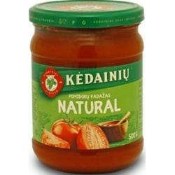 """""""KKF"""" Pomidorų padažas""""Natural"""" 500g (tomato sauce)"""