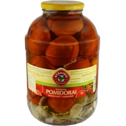 """KKF""Naminiai konservuoti pomidorai 3150g(Marinated tomatoes)"