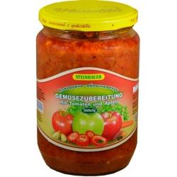 """Pomidorų ir obuolių salotos""""Яблочная икра"""" 670g (Salad tomato and apple)"""