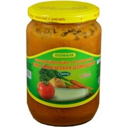 "Daržovių salotos""Икра кабачковая домашняя""680g(Salad vegetable)"