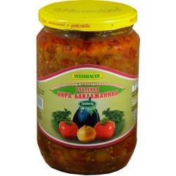 "Baklažanų salotos ""Рубленая икра баклажанная"" 650g (Salad eggplant)"