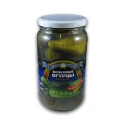 Rauginti agurkai be acto 900g (Barrel cucumbers)