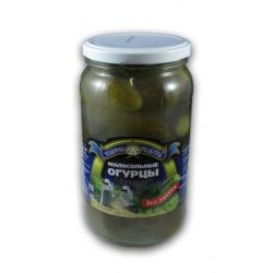 Mažai sūdyti be acto agurkai 900g (less salt cucumbers)