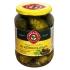 Marinuoti agurkai su ąžuolo lapais 660(330)g (Marinated cucumbers)