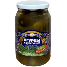 """Aldim"" Rauginti agurkai be acto 900g (Barrel cucumbers)"