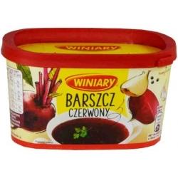 """Winiary""  Tirpi Barščiu sriuba 170g (Beetroot instant soup)"