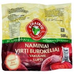 """""""KKF""""  Naminiai virti burokėliai vakuume lupti 500g (Boiled red beetroots in vacuum)"""