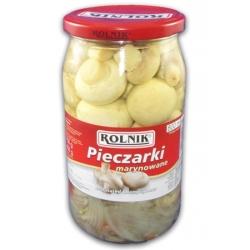 "Pievagrybiai marinuoti 800g""Pieczarki""(Marinated champignons)"