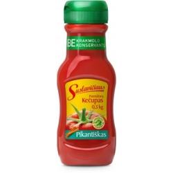 """""""Suslavičiaus"""" Pomidorų padažas """"Pikantiškas"""" 500g  (Tomatoes sauce kechup)"""