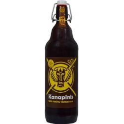"""Kanapinis"" Nefiltruotas Tamsus Alus (Unfiltered Dark Beer) 1L ALC 5,3%"