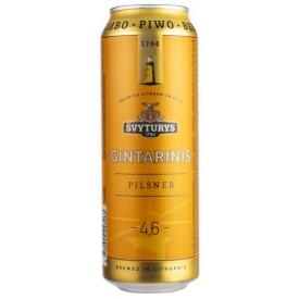 "Švyturys ""Amber Light Beer"" 568 ml 4,6% alc."