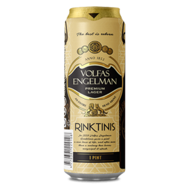 "Volfas Engelman ""Rinktinis"" Beer 568ml 5,2% alc."