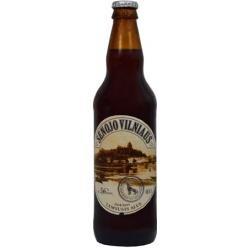 """Senojo Vilniaus""Tamsusis alus 0,5L Alk.5.6%(Dark beer)"