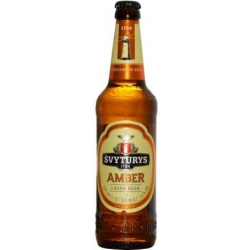 Švyturys Gintarinis alus stikle 4.6% 0.5L(Amber beer)