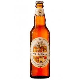 """Vilniaus"" Unfiltered Light Beer 500ml 5.2% alc."